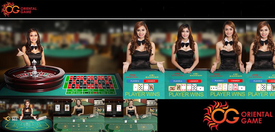 オリエンタルゲーム ライブカジノ