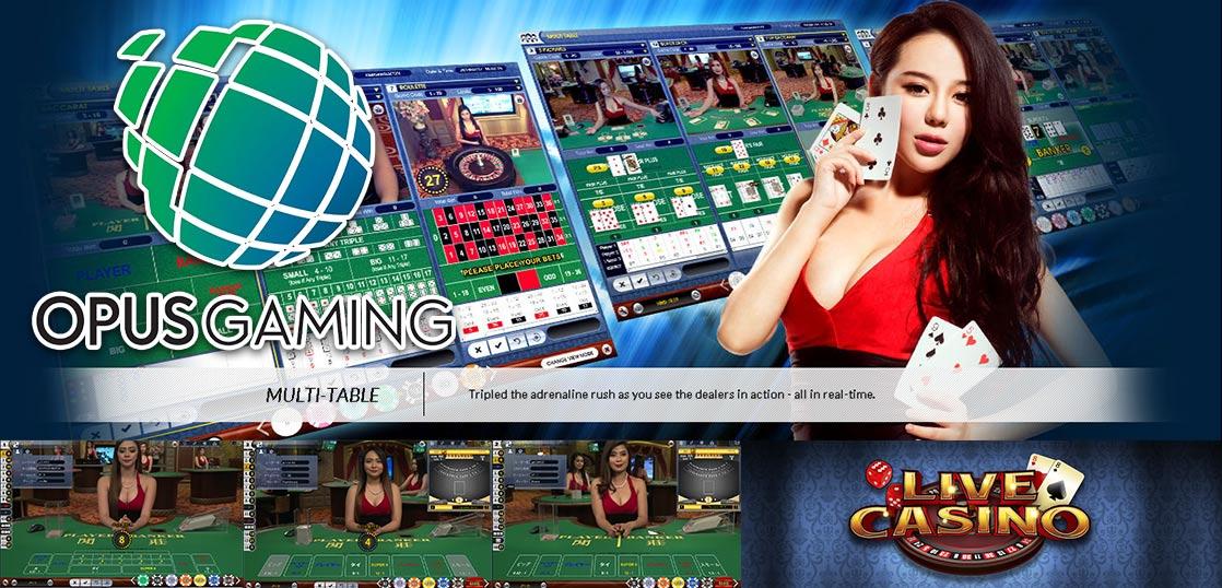 オーパスゲーミング ライブカジノ