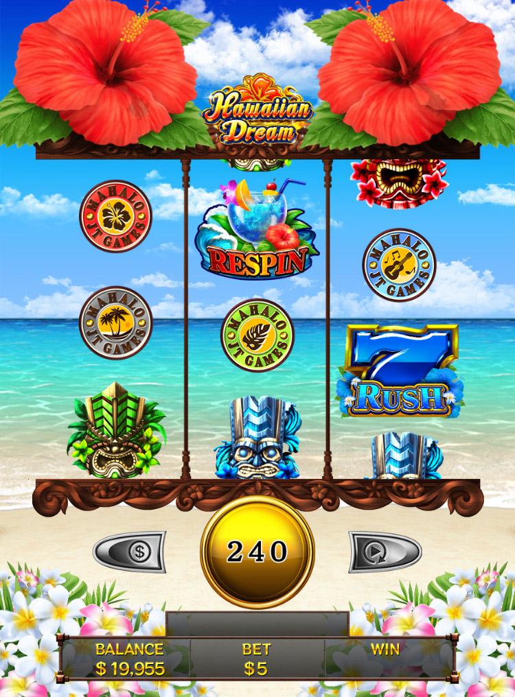 ハワイアンドリーム ライブカジノハウス