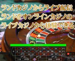 ランドカジノ ライブ配信